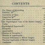 Теория рекламы - оглавление