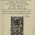 W D Scott - The Theory of Advertising - первая книга по теории рекламы
