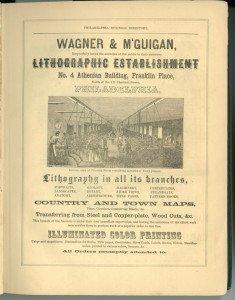 Одно из первых рекламных объявлений с фотографией.