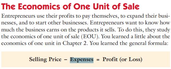 Экономика единичной продажи – метод оценки, успешности (прибыльности) бизнес-идеи, при котором оценивается прибыльность отдельной единицы товара или услуги.