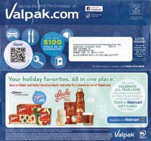 VALPAK - первый сервис рассылки купонов по почте