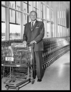 Тележка для супермаркетов - вариант 1960 года