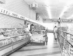В супермаркет на автомобиле